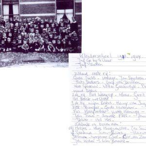Kleuterschool 1943 1944