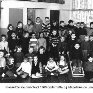 Kleuterschool 1966 Foto 5